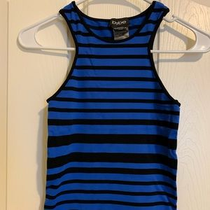 Bebe Fitted High Neck Tank